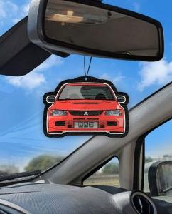 Aromatizante personalizado para carro - Evo 7