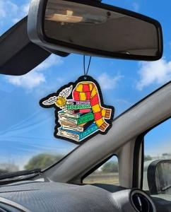 Aromatizante personalizado para carro - Harry Potter Books