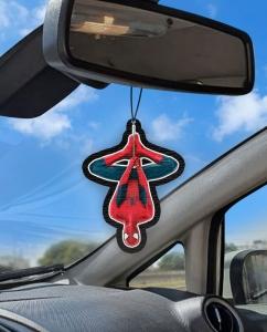 Aromatizante personalizado para carro - Homem Aranha