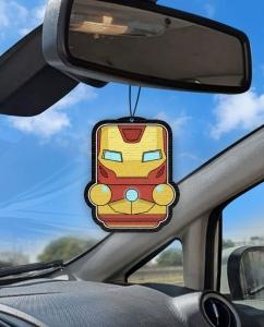 Aromatizante personalizado para carro - Homem de Ferro Air Drop
