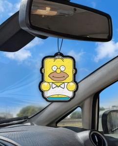 Aromatizante personalizado para carro - Homer Simpsons Air Drop