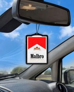 Aromatizante personalizado para carro - Malbro Benga é Benga