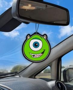 Aromatizante personalizado para carro - Mike Monstros SA