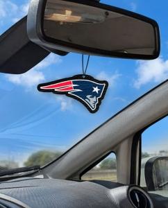 Aromatizante personalizado para carro - New England Patriots