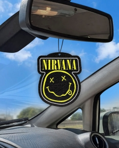 Aromatizante personalizado para carro - Nirvana