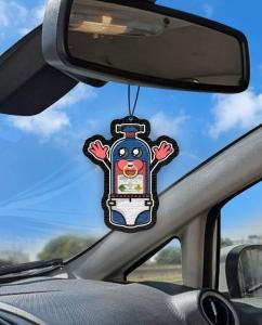 Aromatizante personalizado para carro - Nitro a bordo