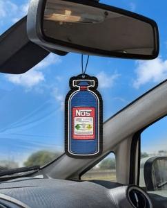 Aromatizante personalizado para carro -  Nitro Nos