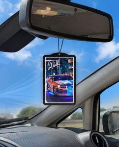 Aromatizante personalizado para carro - Paul Walker Skyline