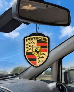 Aromatizante personalizado para carro - Porsche Logo