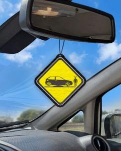 Aromatizante personalizado para carro - Rebaixados
