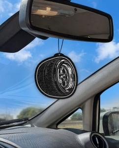 Aromatizante personalizado para carro - Rodas Weld