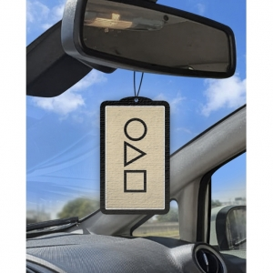 Aromatizante personalizado para carro -  ROUND 6 CONVITE