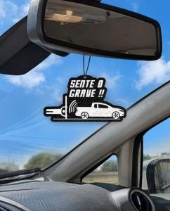 Aromatizante personalizado para carro - Sente o Grave