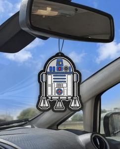 Aromatizante personalizado para carro -  Starwars R2-D2