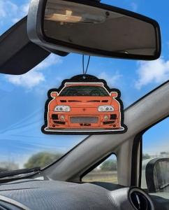 Aromatizante personalizado para carro - Supra 10 Segundos