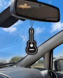 Aromatizante personalizado para carro - Violão