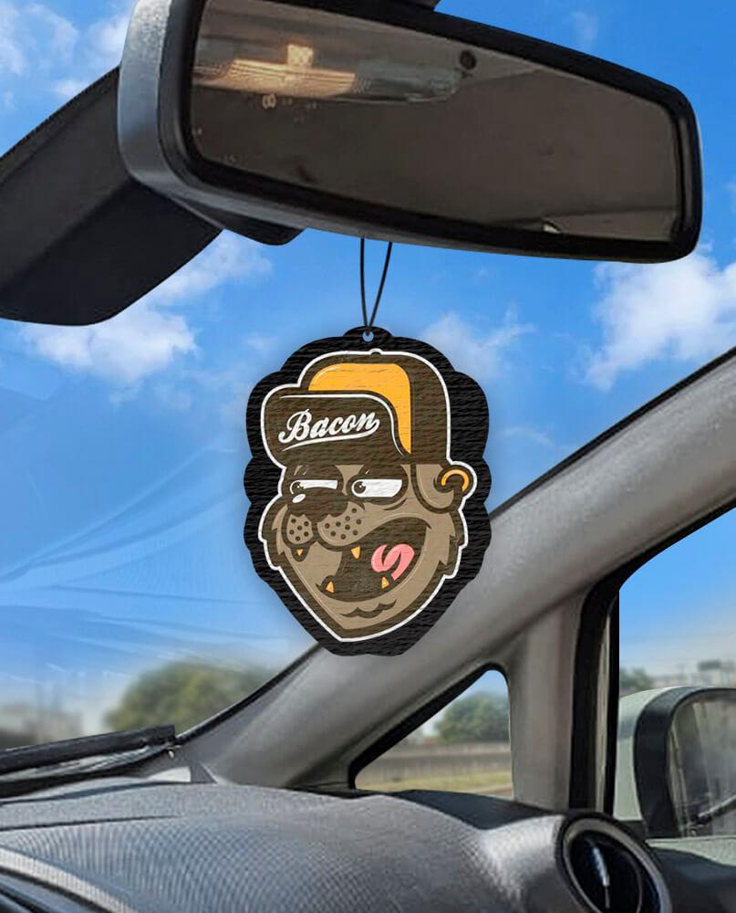 Aromatizante personalizado para carro - Bacon  - Aromatizacar