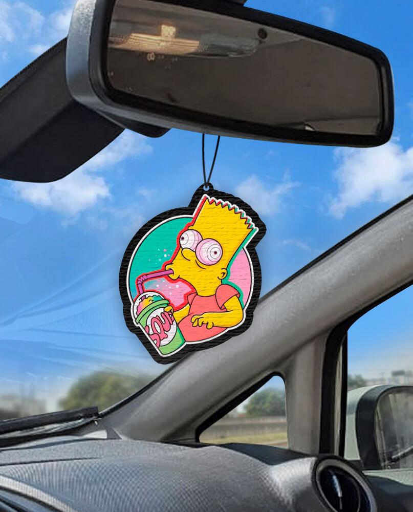 Aromatizante personalizado para carro - Bart Dope