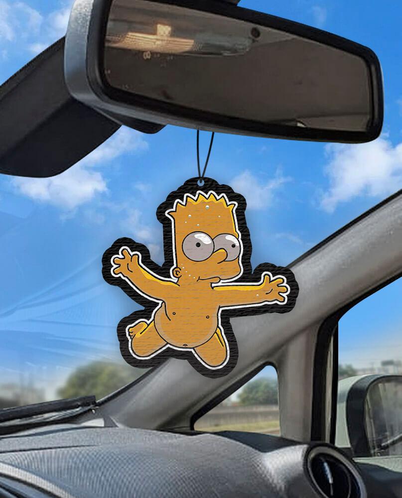 Aromatizante personalizado para carro - Bart Nirvana