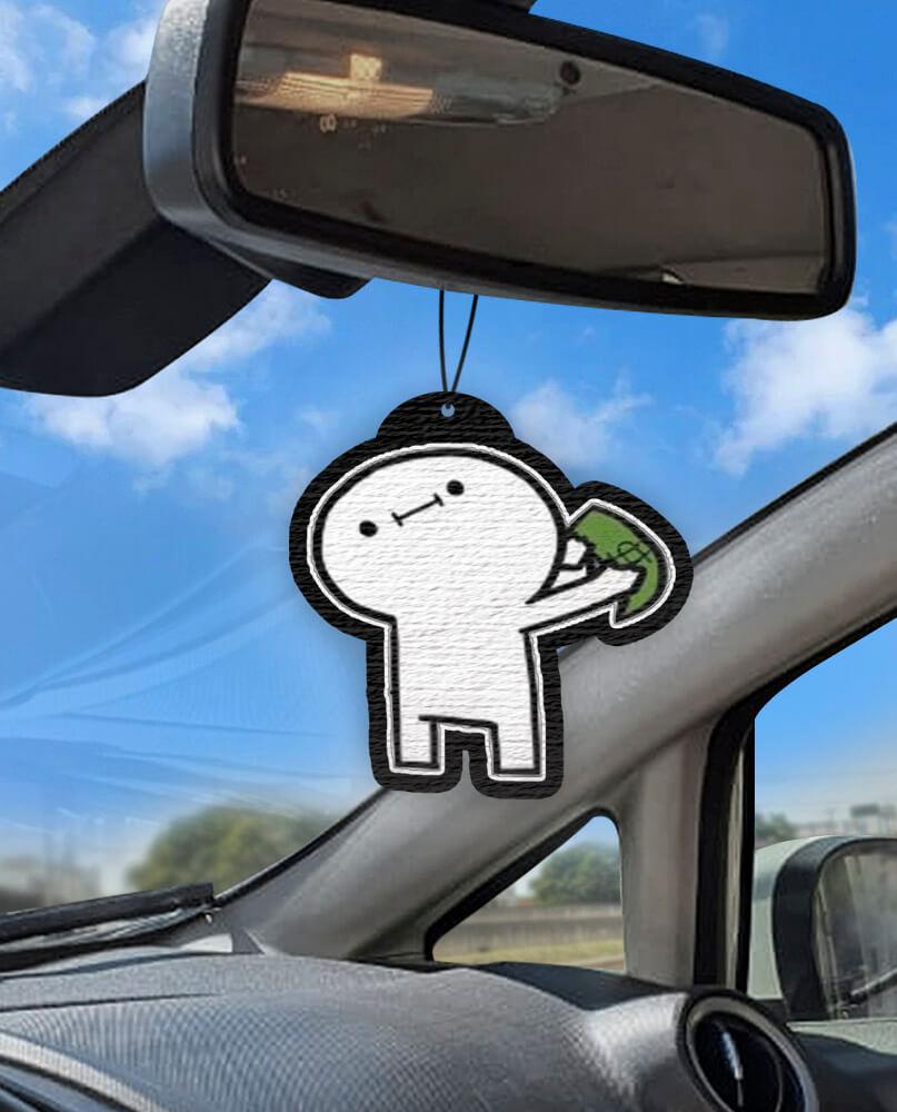 Aromatizante personalizado para carro - Billy Wait  - Aromatizacar