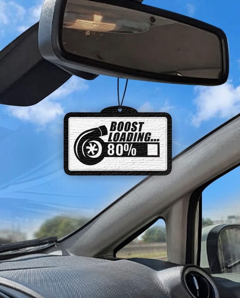 Aromatizante personalizado para carro - Boost Loading  - Aromatizacar