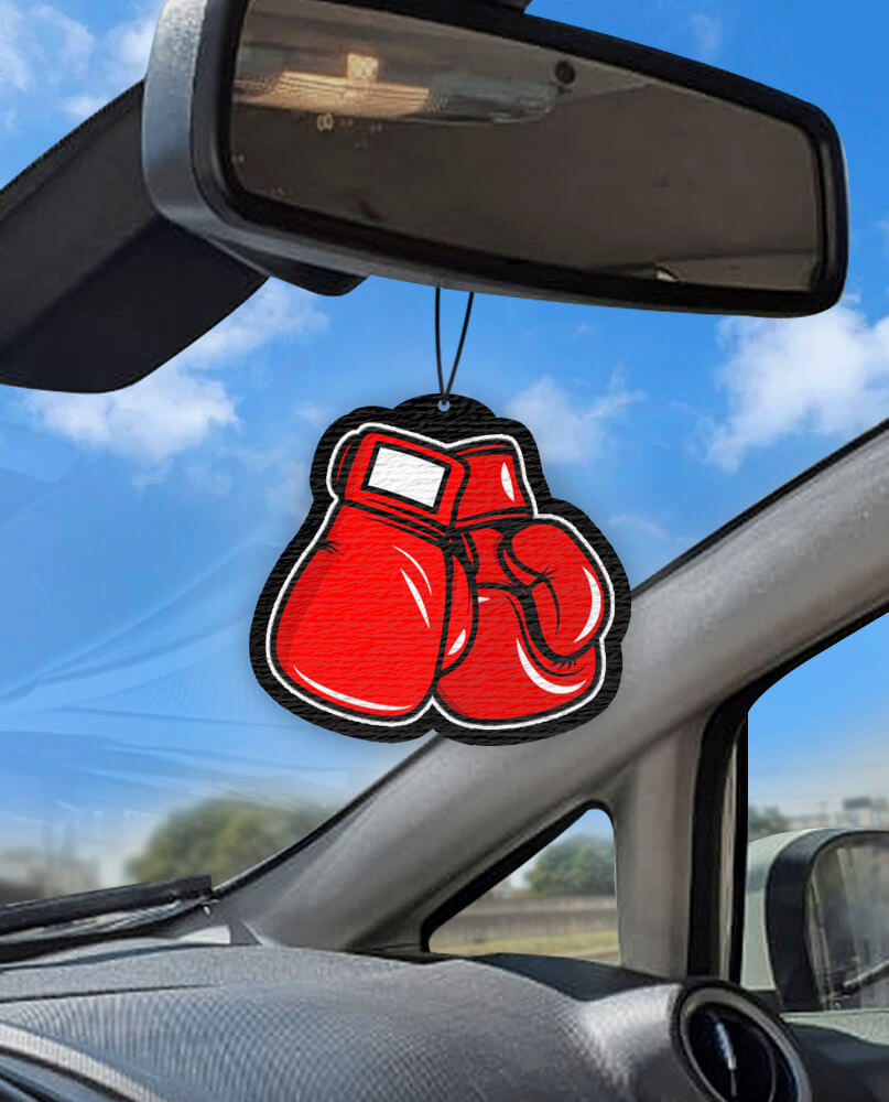 Aromatizante personalizado para carro - Boxe  - Aromatizacar