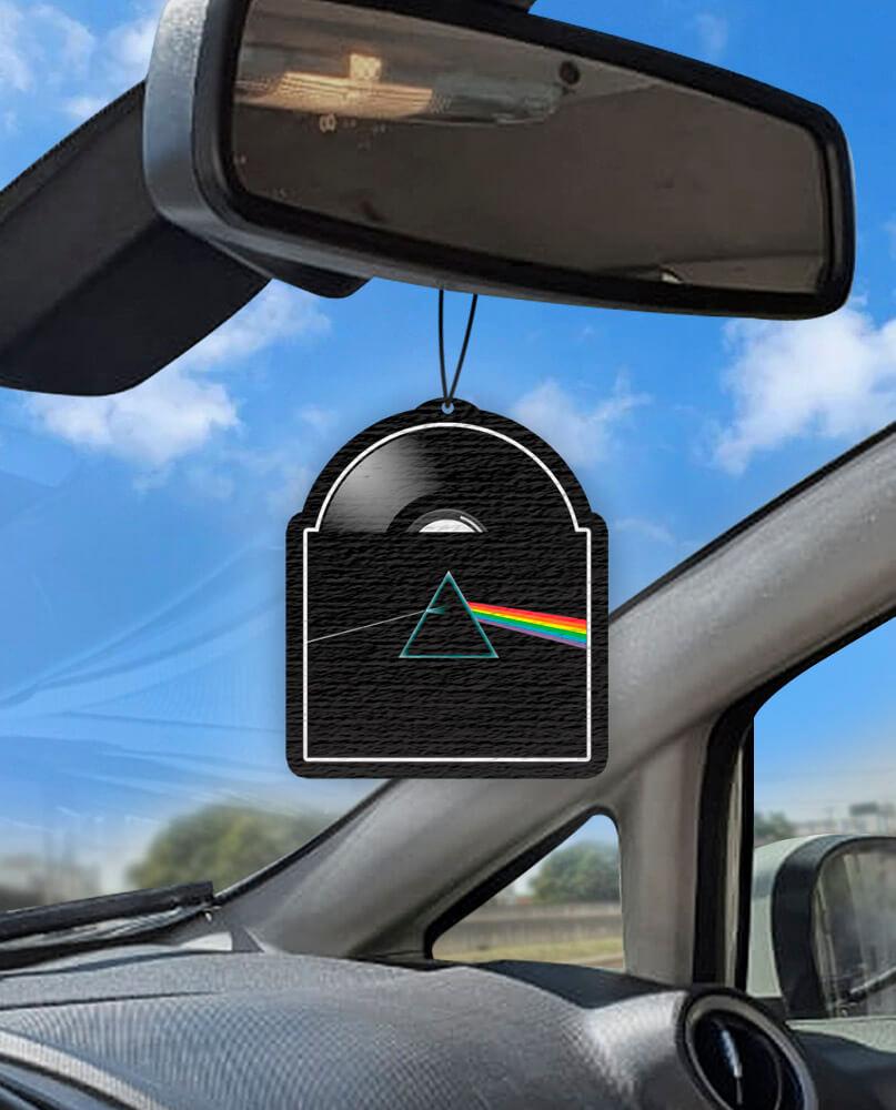 Aromatizante personalizado para carro - Disco Pink Floyd  - Aromatizacar