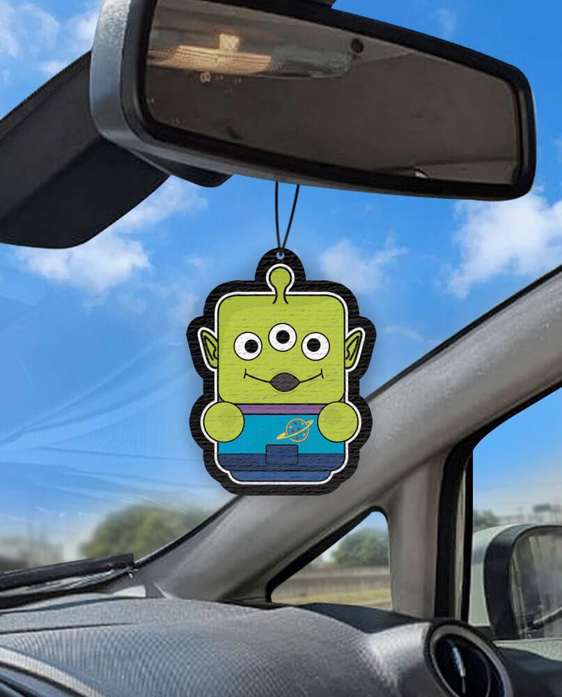 Aromatizante personalizado para carro - ET Toy Story Air Drop  - Aromatizacar