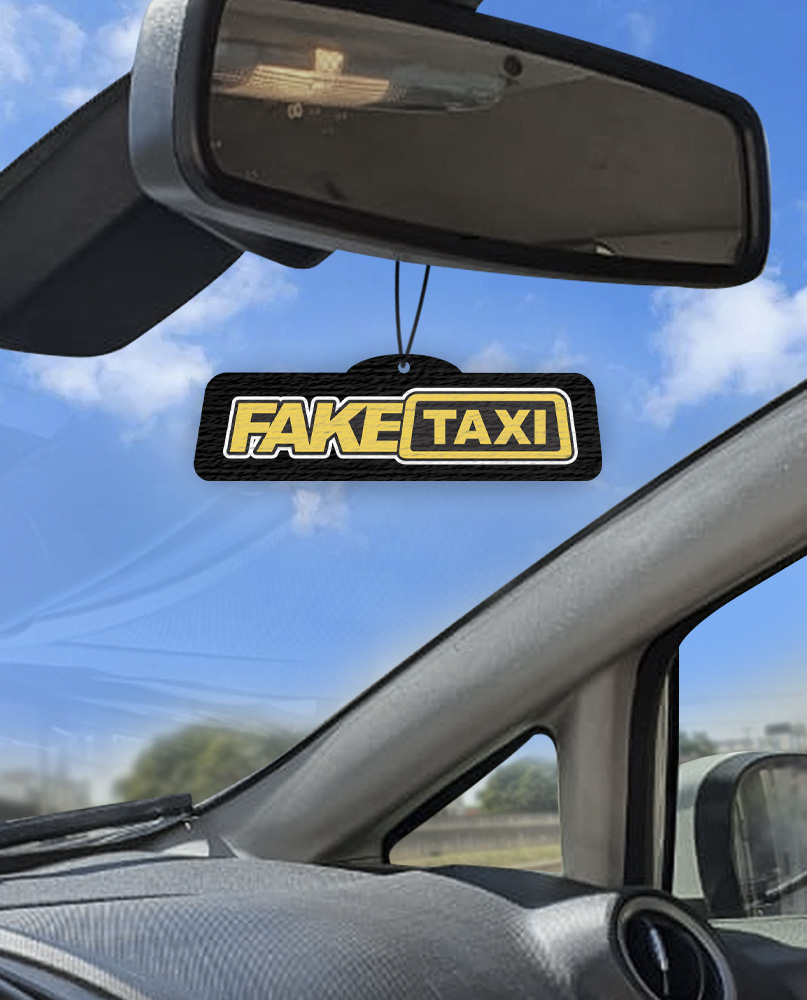 Aromatizante personalizado para carro  - Fake Taxi  - Aromatizacar