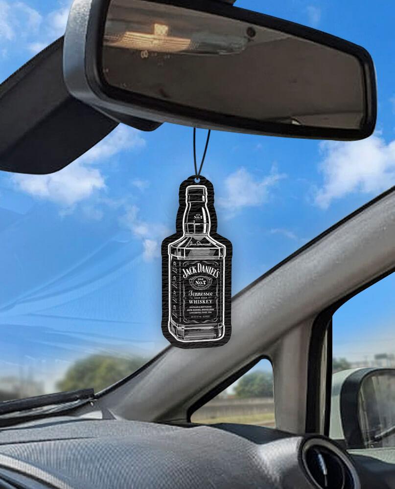 Aromatizante personalizado para carro - Garrafa de Whisky