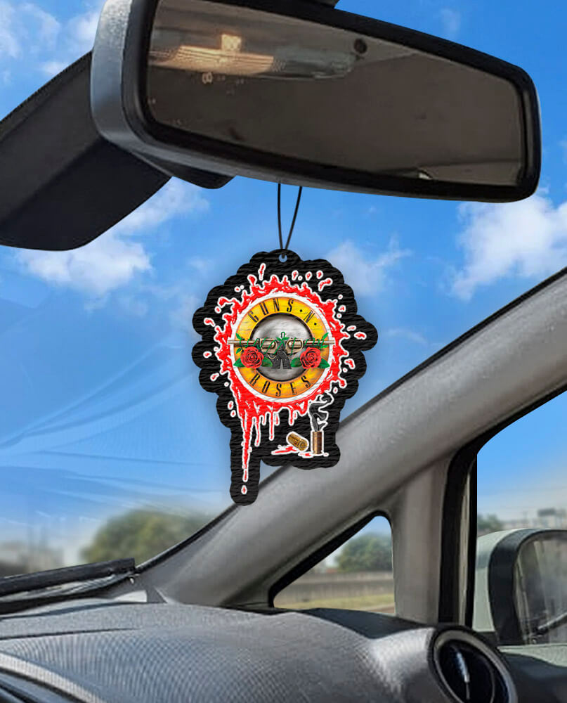 Aromatizante personalizado para carro - Guns n' Roses