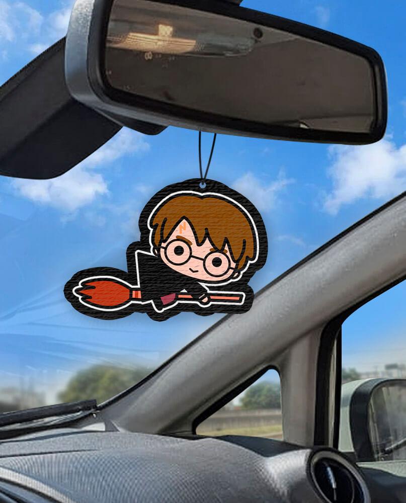 Aromatizante personalizado para carro - Harry Potter
