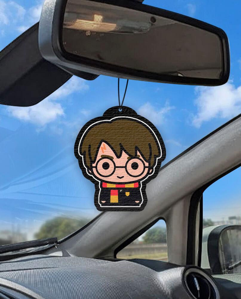 Aromatizante personalizado para carro - Harry Potter Coleção #1