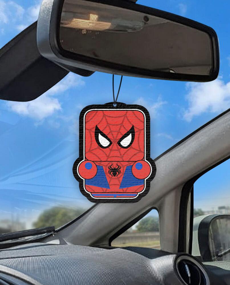 Aromatizante personalizado para carro - Homem Aranha Air Drop