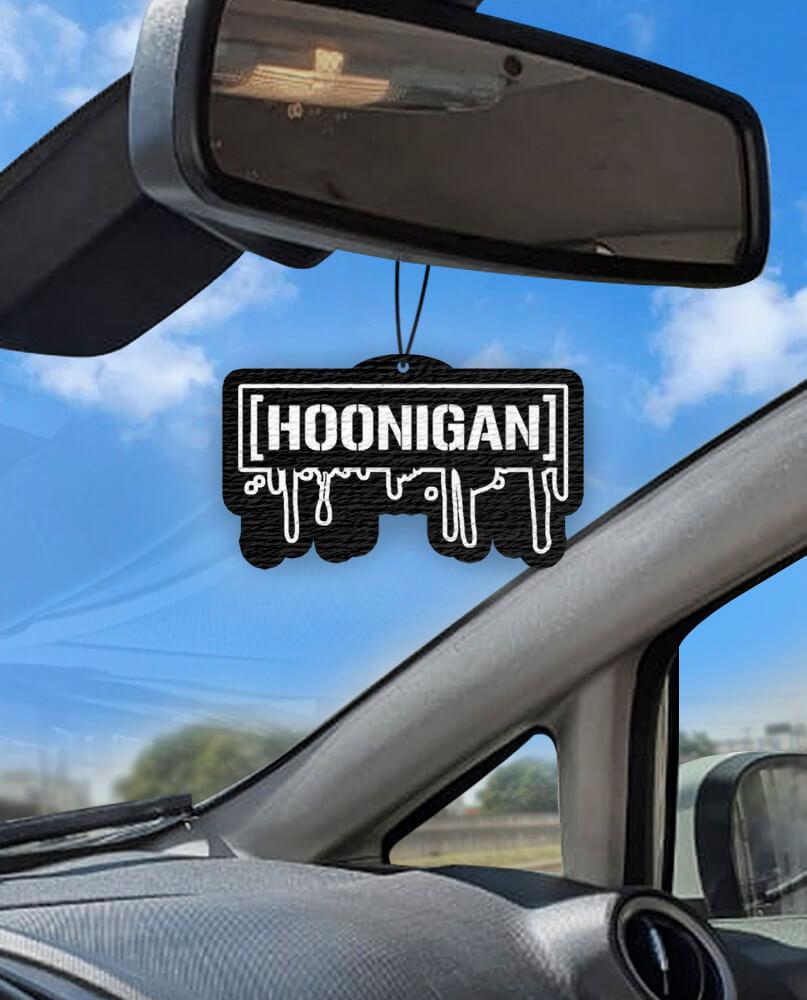 Aromatizante personalizado para carro - Hoonigan