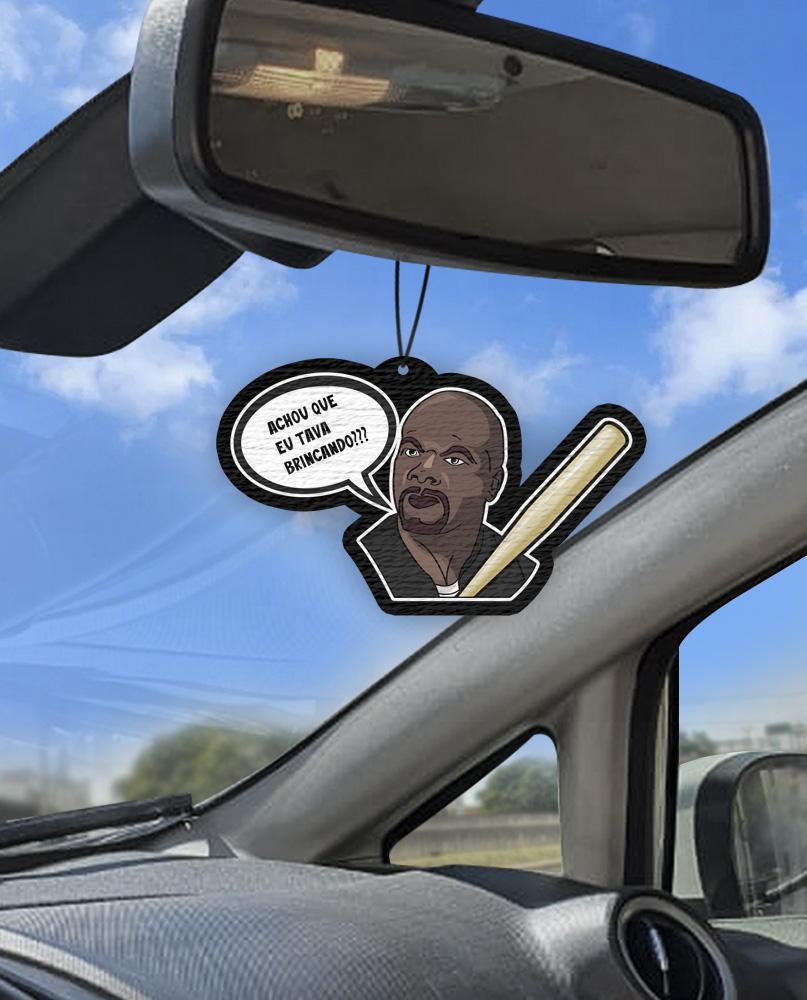 Aromatizante personalizado para carro - Julius Achou Que Eu Tava Bricando?