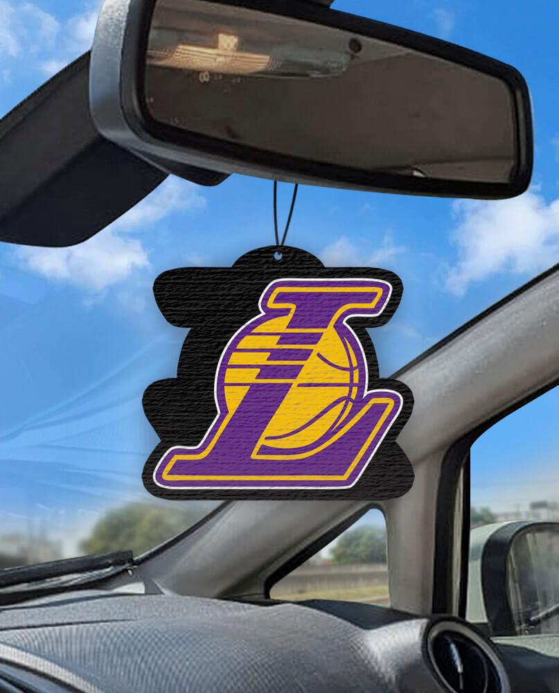 Aromatizante personalizado para carro - Lakers  - Aromatizacar