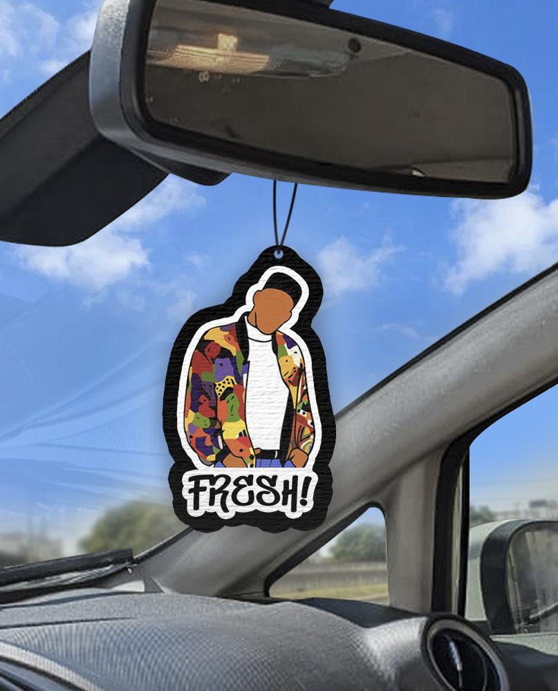 Aromatizante personalizado para carro - Maluco no Pedaço Fresh