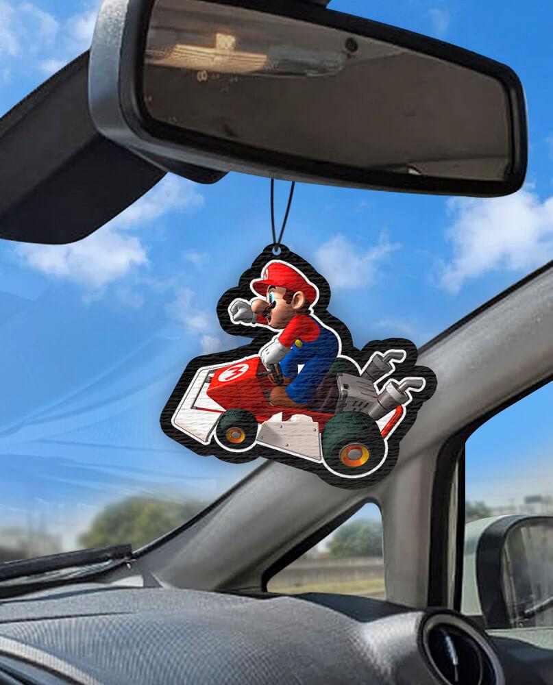 Aromatizante personalizado para carro - Mario Kart