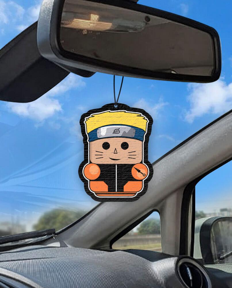 Aromatizante personalizado para carro - Naruto Air Drop