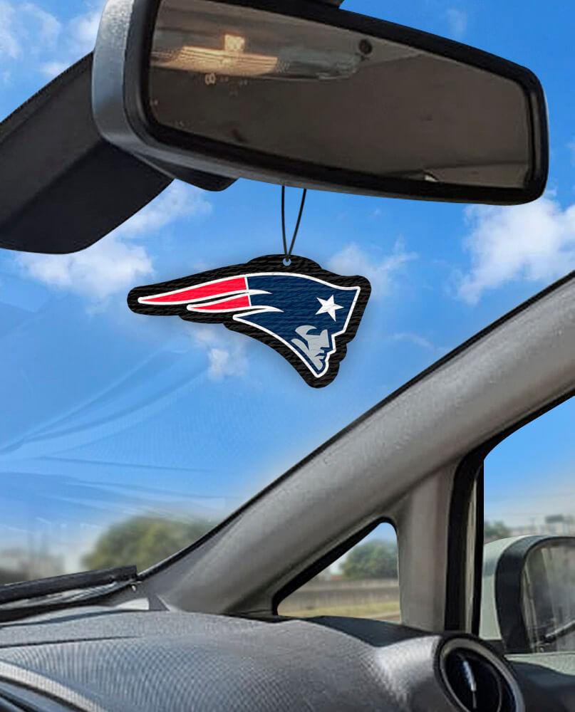 Aromatizante personalizado para carro - New England Patriots  - Aromatizacar