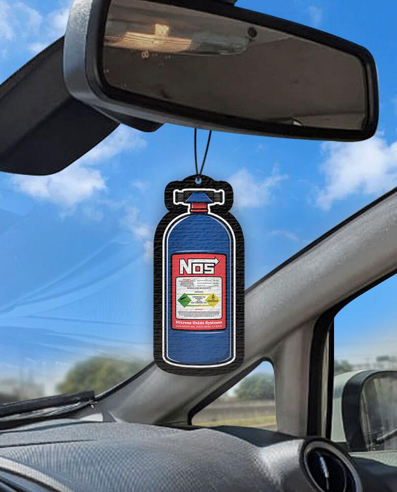 Aromatizante personalizado para carro -  Nitro Nos  - Aromatizacar