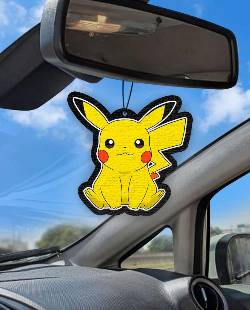 Aromatizante personalizado para carro - Pikachu