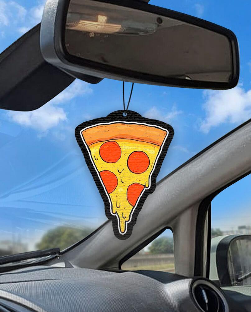 Aromatizante personalizado para carro - Pizza  - Aromatizacar