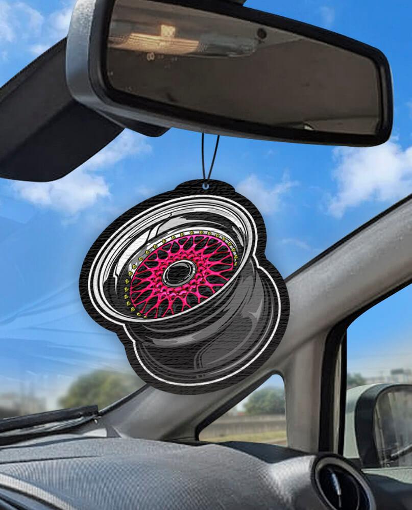 Aromatizante personalizado para carro - Rodas BBS