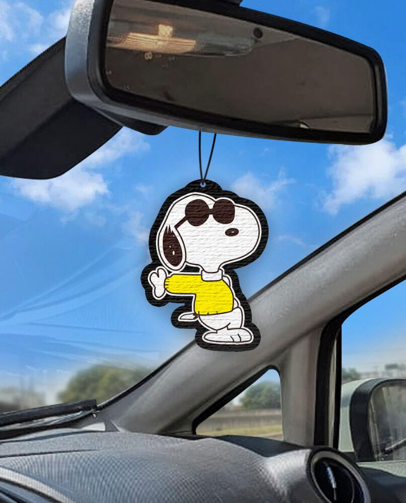 Aromatizante personalizado para carro - Snoopy