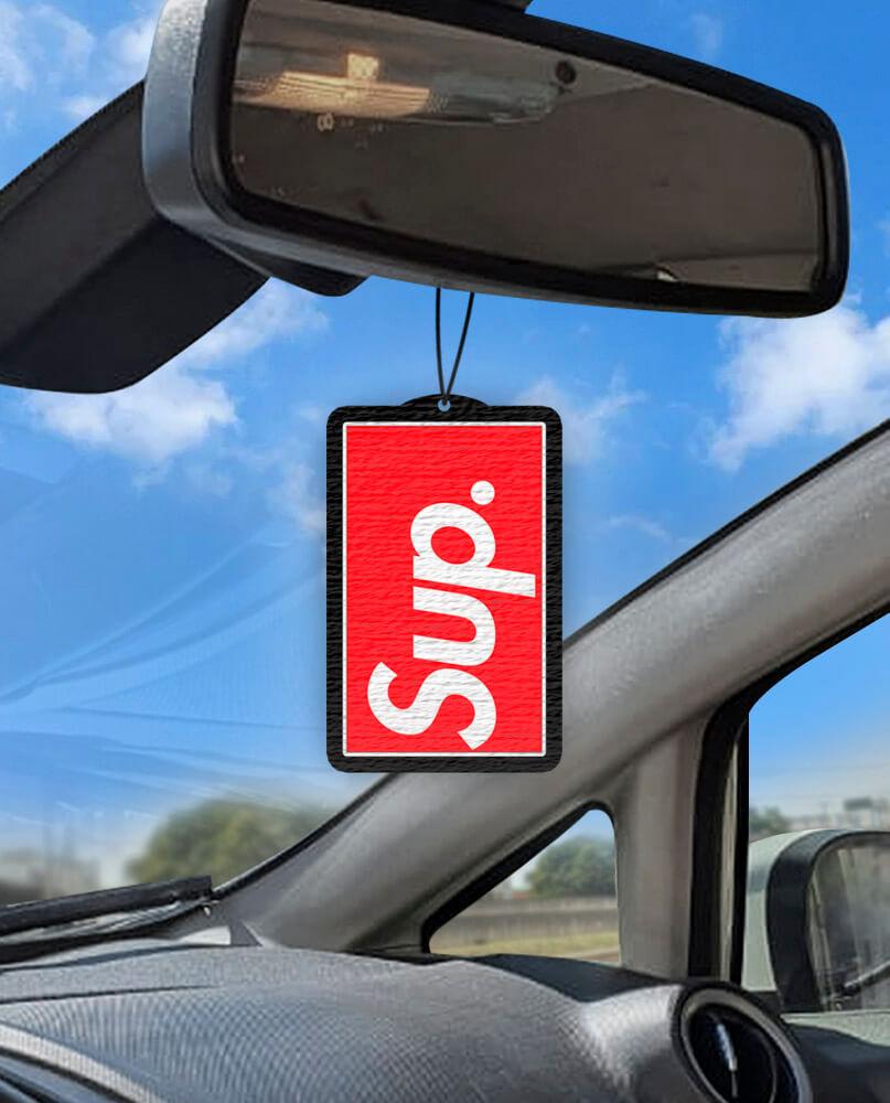 Aromatizante personalizado para carro - Sup.
