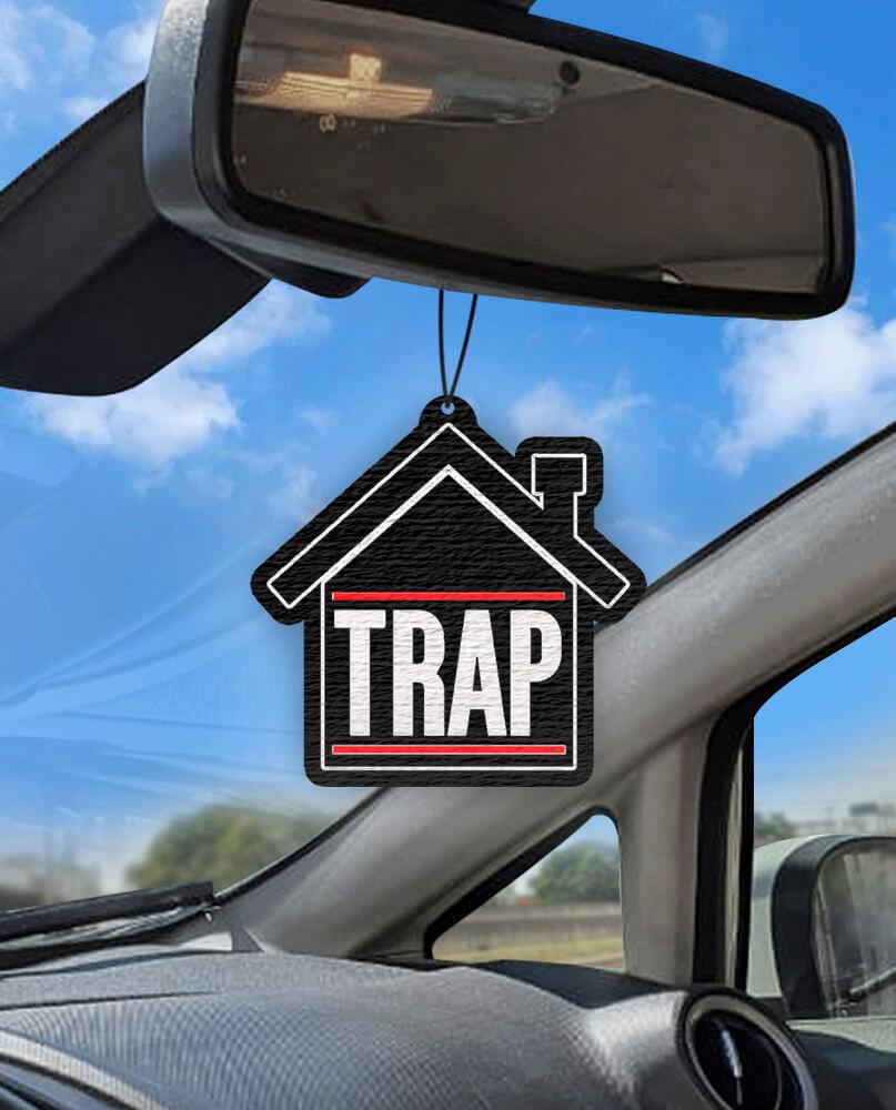 Aromatizante personalizado para carro - Trap