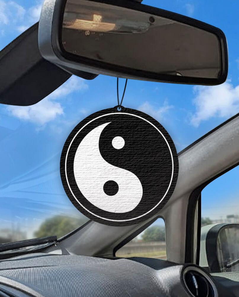Aromatizante personalizado para carro - Yin Yang