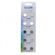 Bateria Alcalina Energy Lr54 - Ag10 - LR1130 1.5v Blister 10 Unidades Elgin
